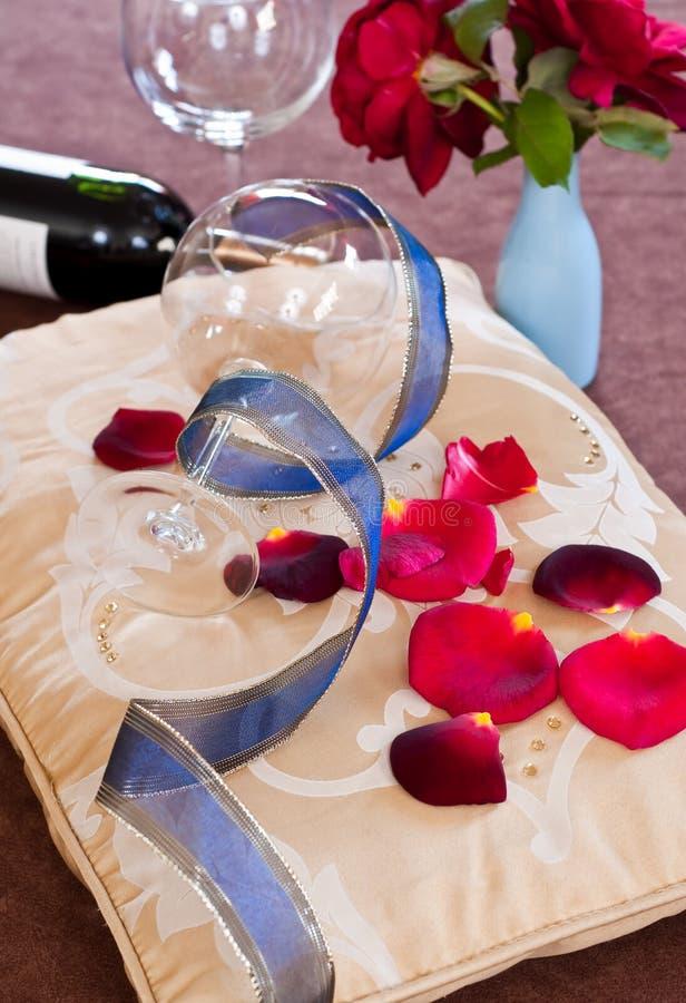 Datte romantique image stock