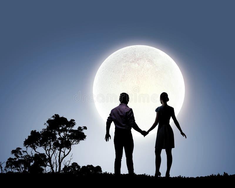 Datte romantique photographie stock libre de droits