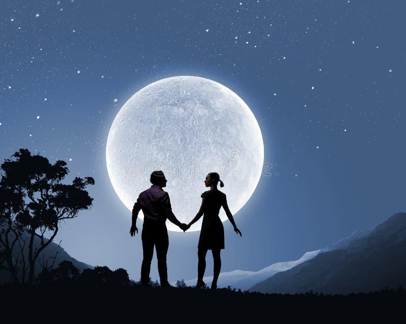 Datte romantique image libre de droits