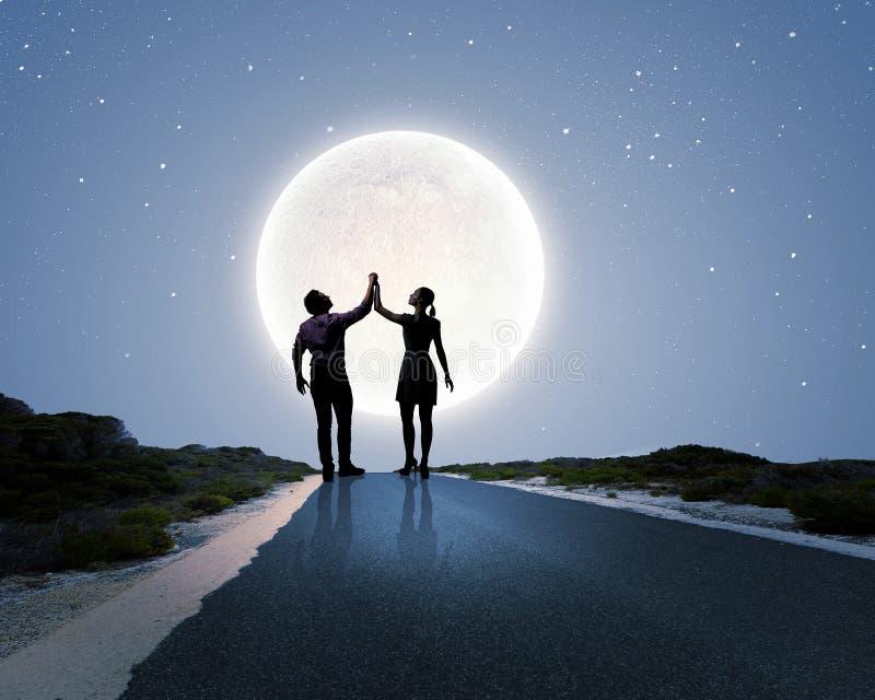 Datte romantique images stock