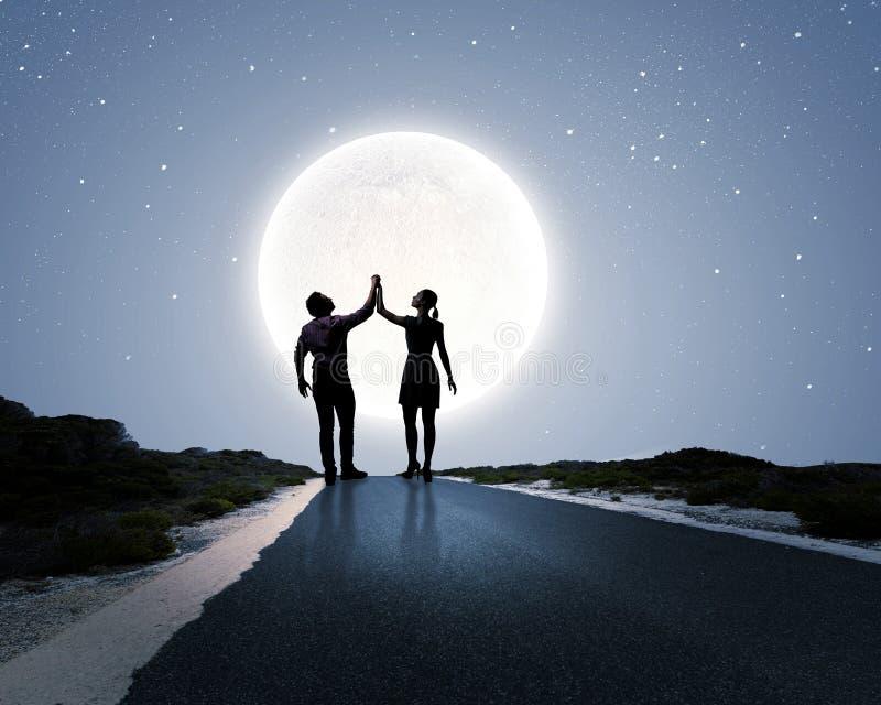Datte romantique images libres de droits
