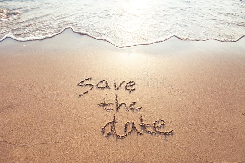 datumet sparar arkivfoton