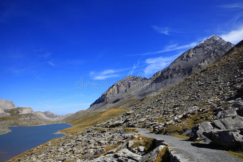 daubensee湖  库存图片