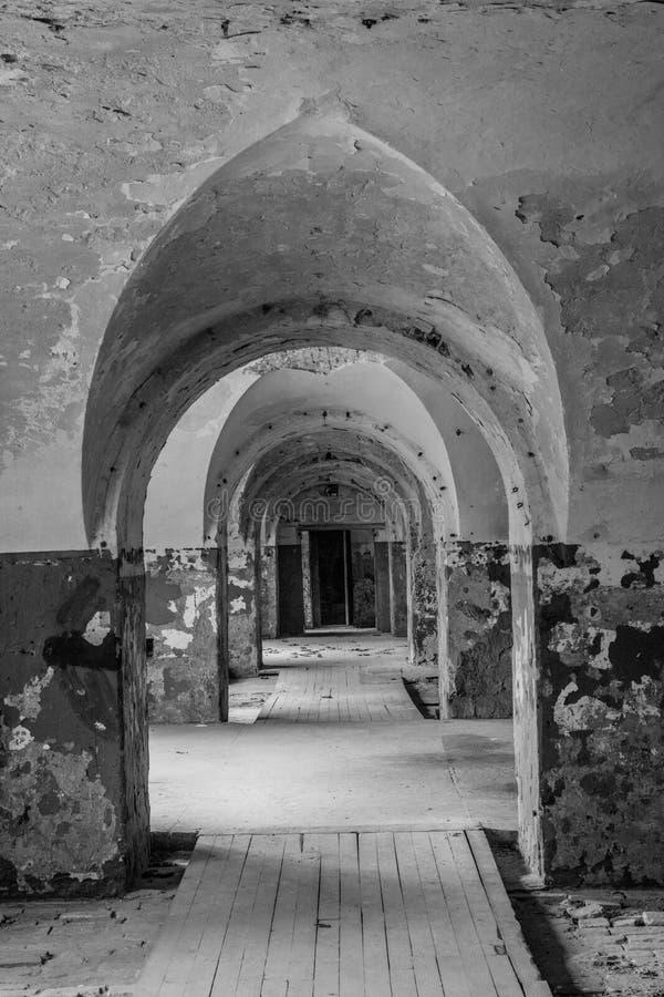 Daugavgrivas-Festung lizenzfreies stockbild