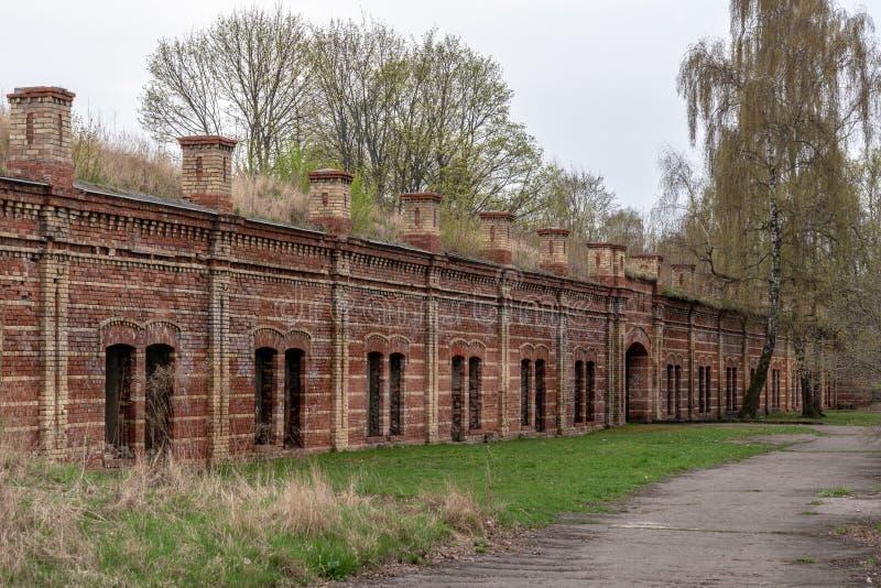 Daugavgrivas-Festung stockbilder