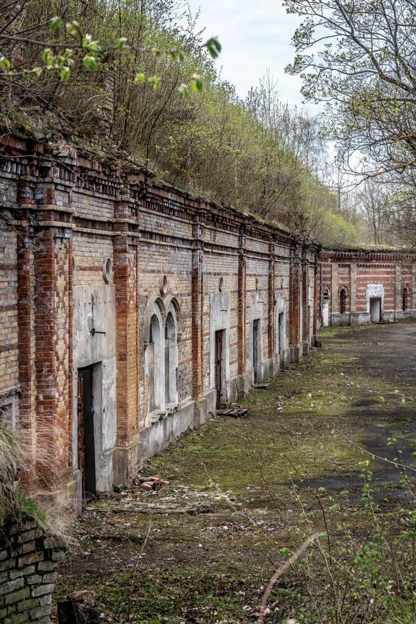 Daugavgrivas-Festung lizenzfreie stockfotos