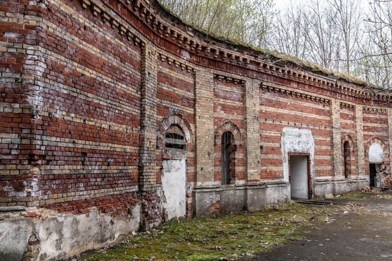 Daugavgrivas-Festung lizenzfreies stockfoto