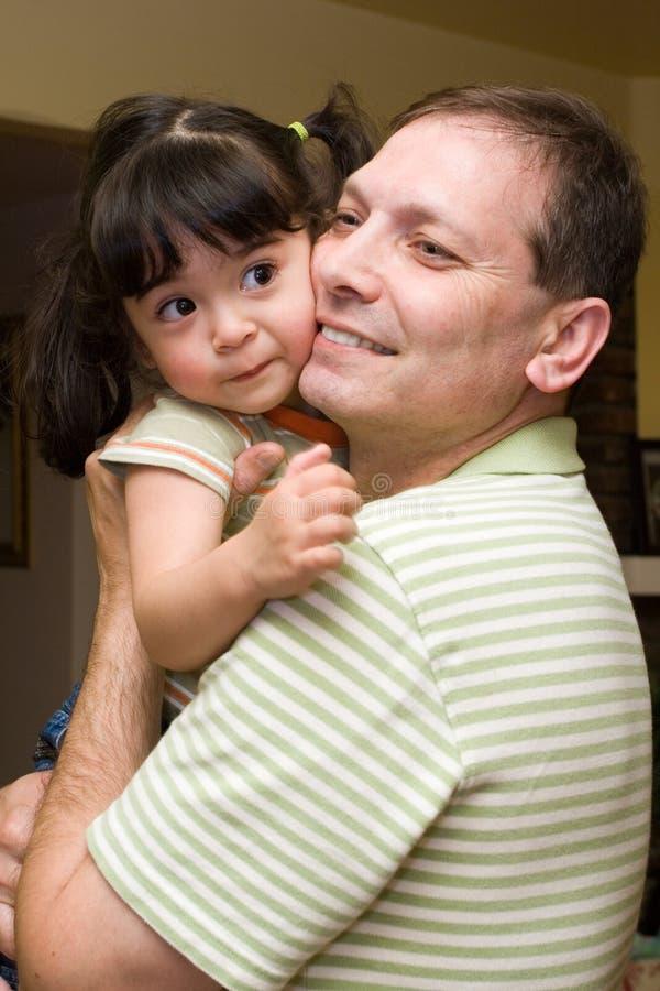 daughter father στοκ εικόνες
