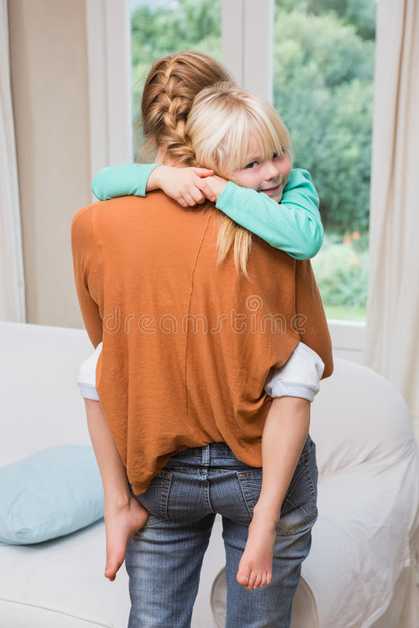 daughter happy mother together στοκ εικόνες με δικαίωμα ελεύθερης χρήσης