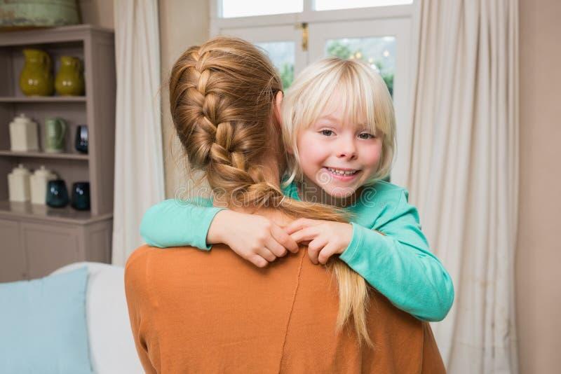 daughter happy mother together στοκ εικόνες