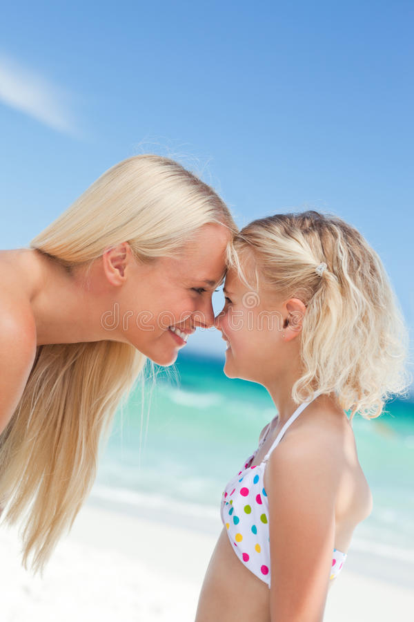 Download Daughter Having Fun With Her Mother Stock Photo - Image of vacation, hand: 18700952