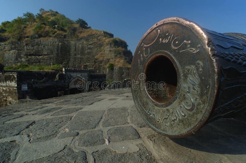 Daulatabad, également connu sous le nom de Devagiri un fort du 14ème siècle près du maharashtra d'Aurangabad photos stock