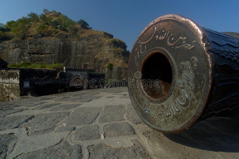 Daulatabad, également connu sous le nom de Devagiri un fort du 14ème siècle près du maharashtra d'Aurangabad images stock