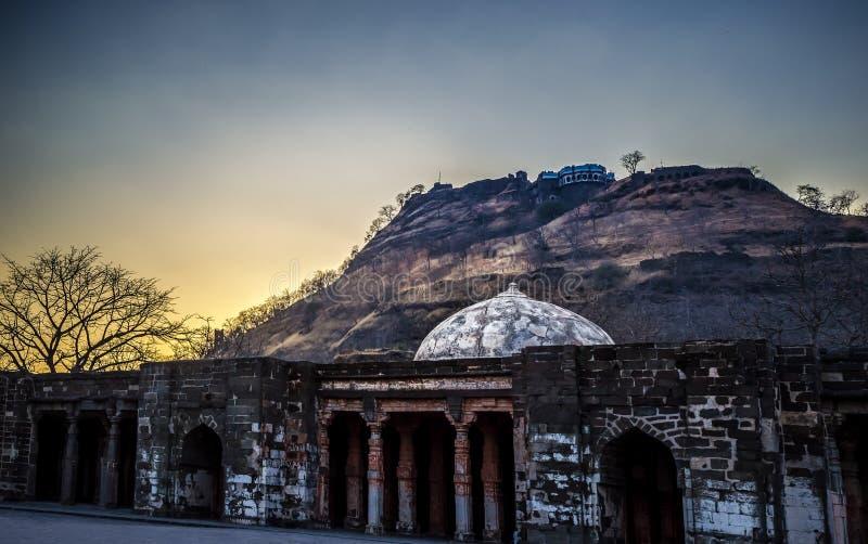Daulatabad fort obraz royalty free