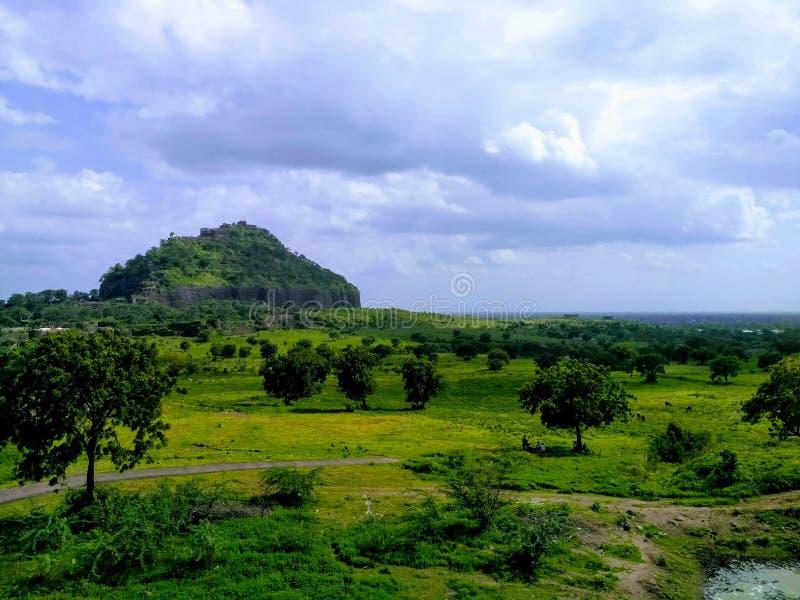 Daulatabad fort fotografia royalty free