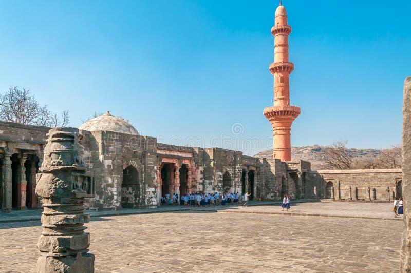 Daulatabad Fort stock photo