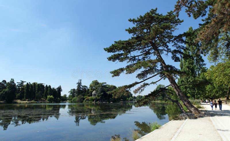 Daumesnil jezioro w Paryż zdjęcie royalty free