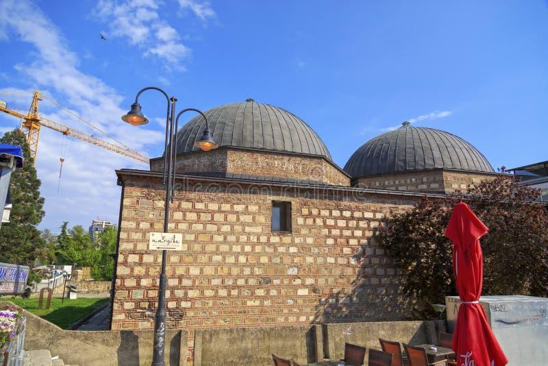 Daut Pasha Hammam, Skopje fotografia stock