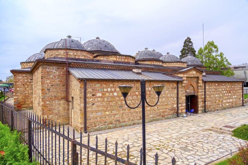 Daut Pasha Hammam, Skopje, Macedonia fotografie stock