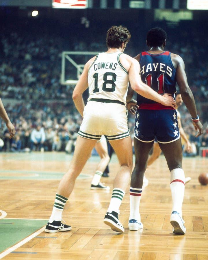 Dave Cowens, Celtics de Boston image stock