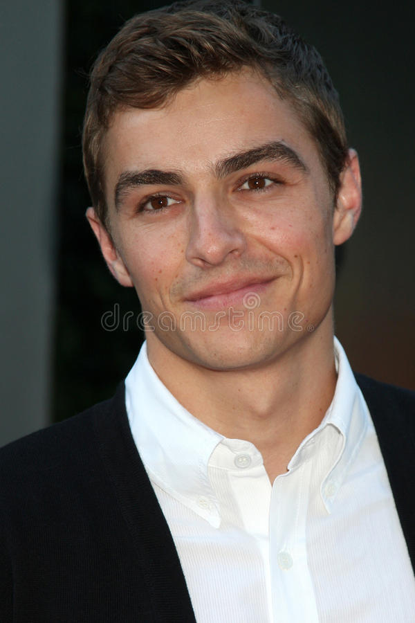 Dave Franco photo libre de droits