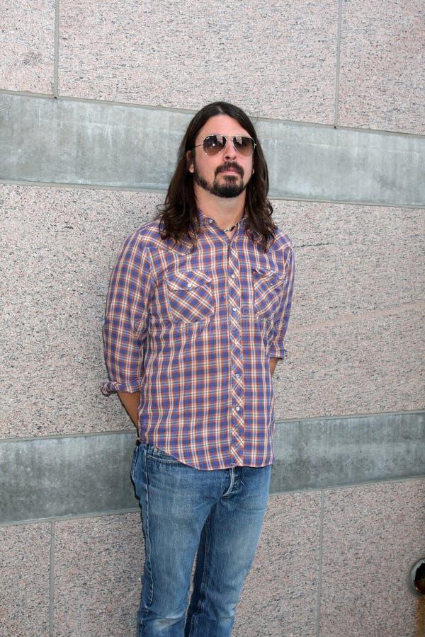 Dave Grohl photo libre de droits