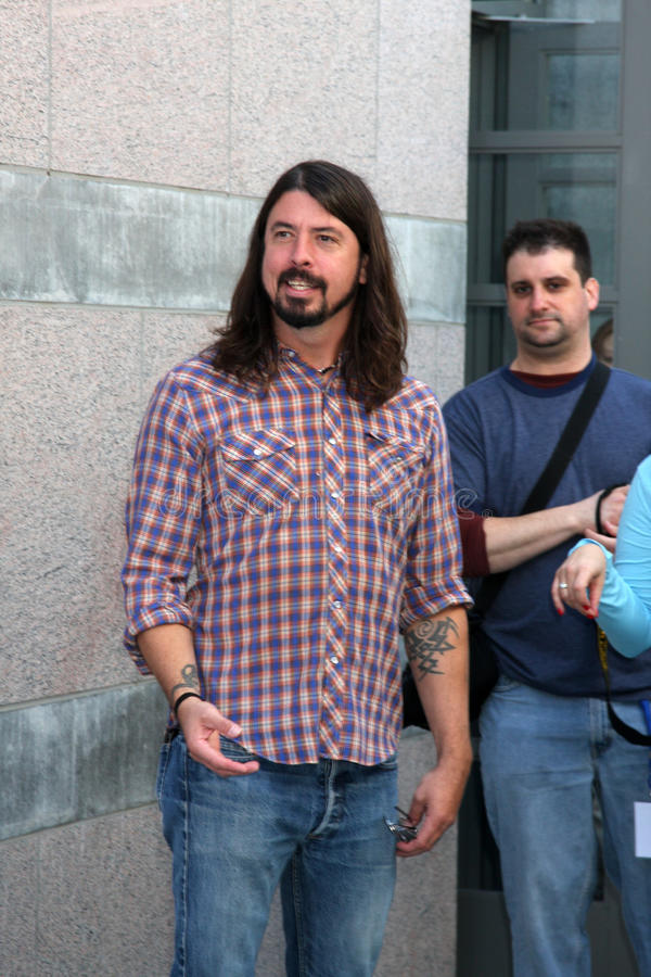Dave Grohl images stock