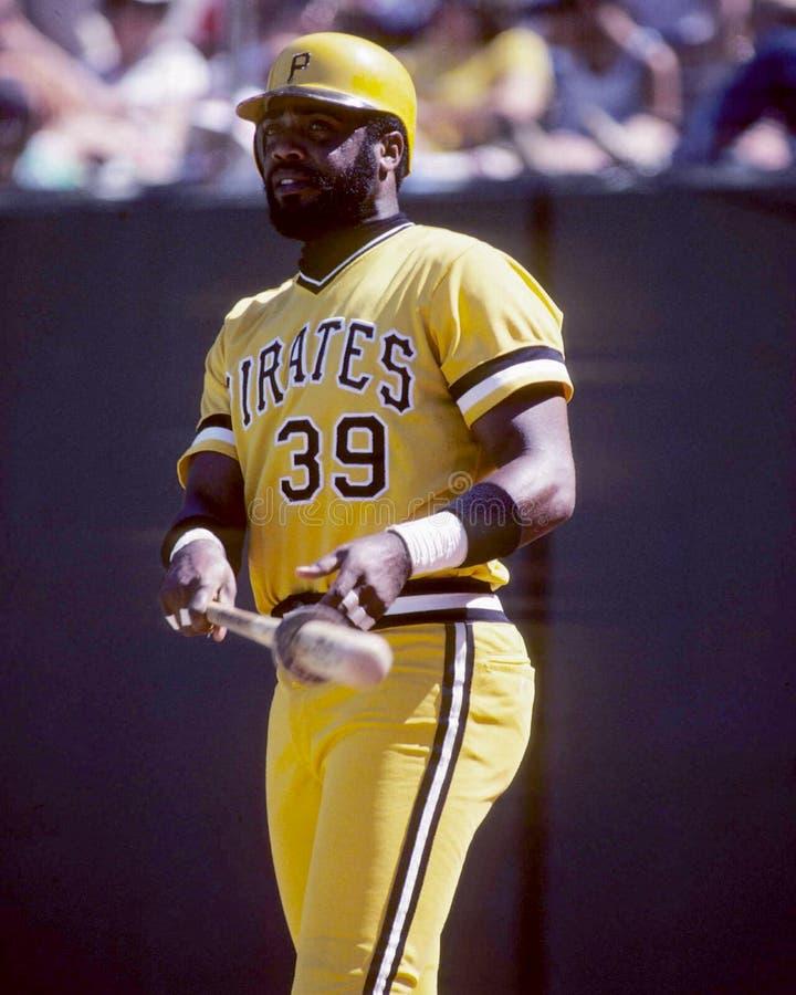 Dave Parker, Pittsburgh Pirates photographie stock libre de droits