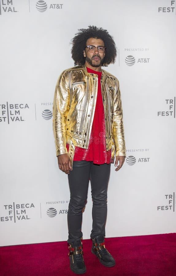 Daveed Diggs erscheint bei Tribeca-Film-Festival 2017 stockbilder