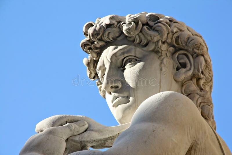 David à Florence Italie images stock