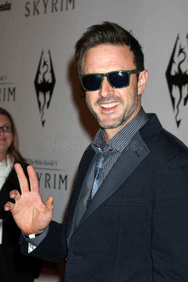 David Arquette royalty free stock image