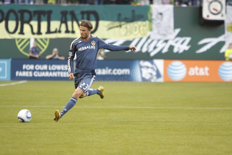 David Beckham imagem de stock