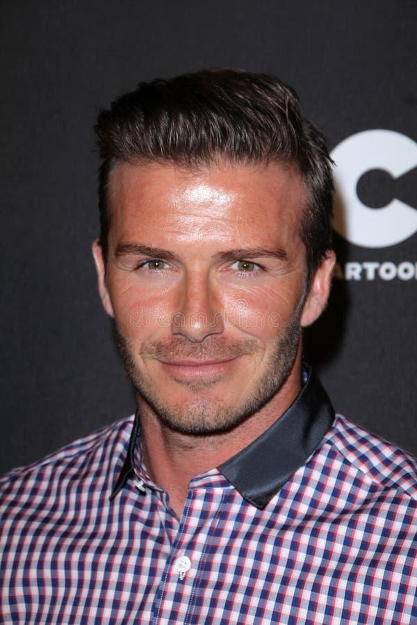 David Beckham. At the Cartoon Network Hall of Game Awards, Barker Hangar, Santa Monica, CA 02-18-12 stock photo