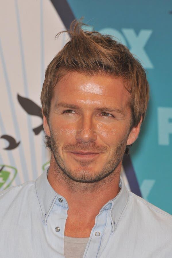 David Beckham photos libres de droits
