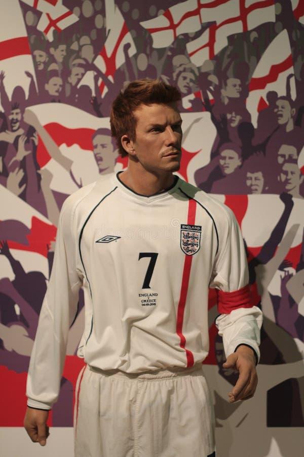 David Beckham foto de archivo