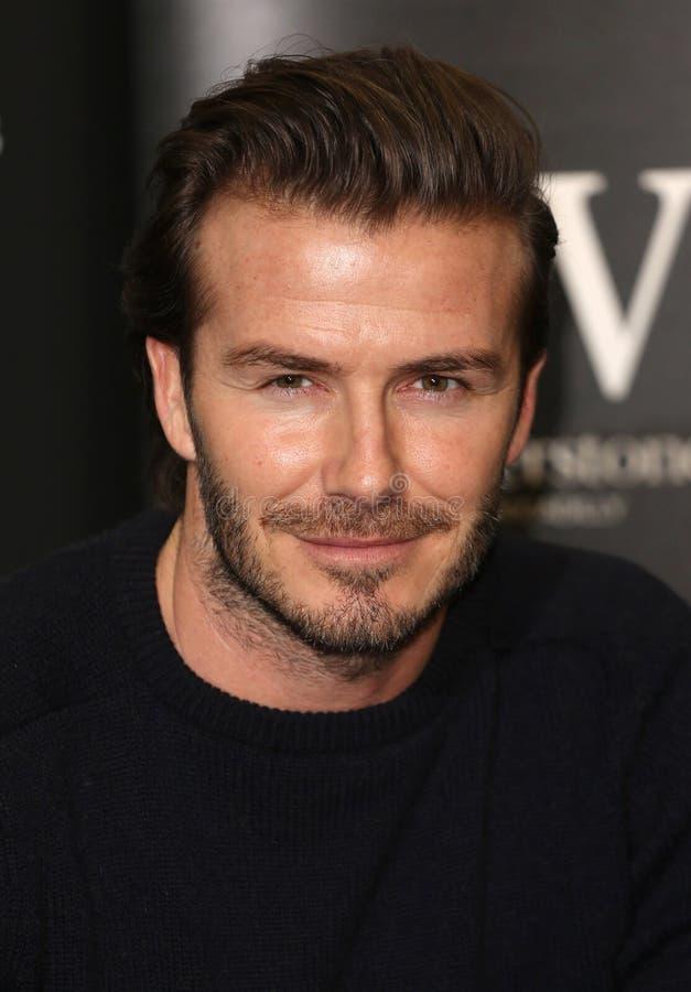 David Beckham foto de stock royalty free