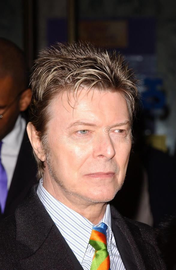 David Bowie fotografie stock