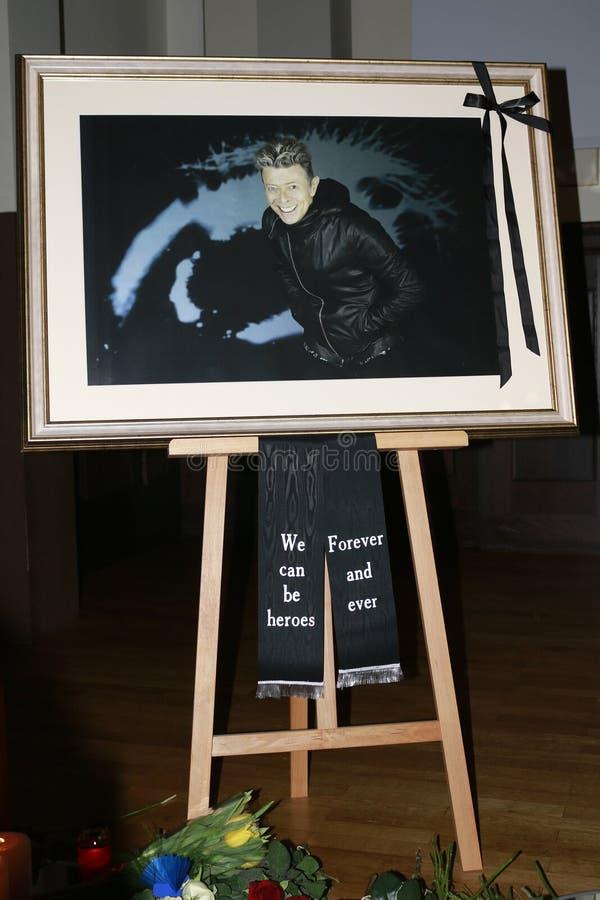 David Bowie stock afbeeldingen