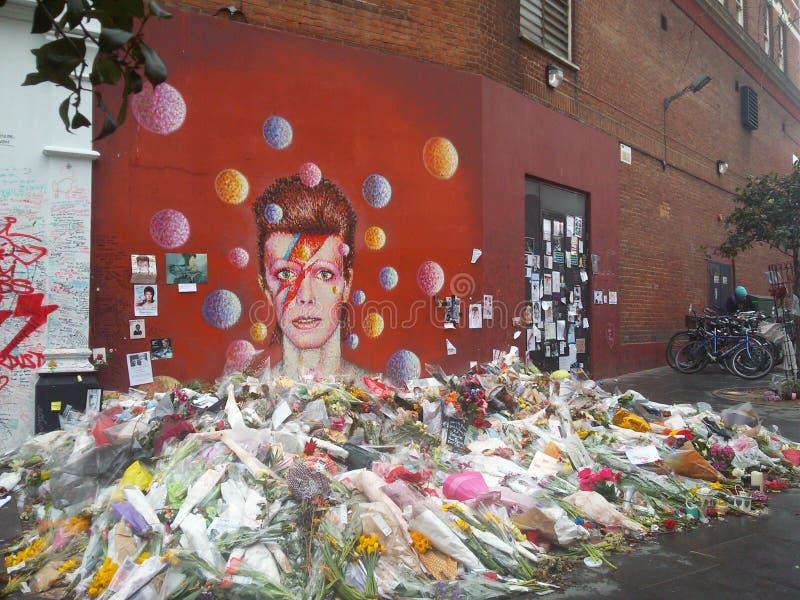 David Bowie images libres de droits