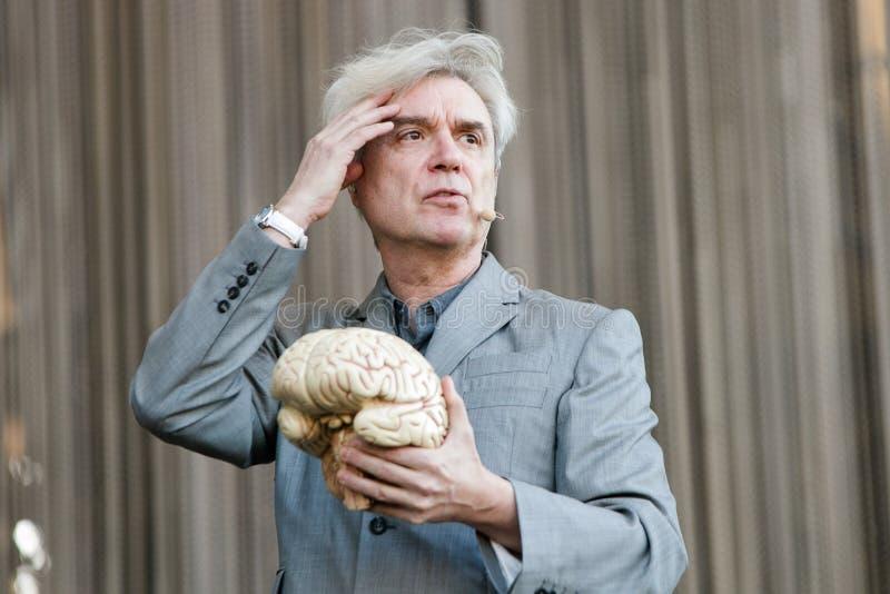 David Byrne imagenes de archivo