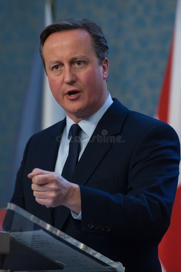 David Cameron arkivfoton
