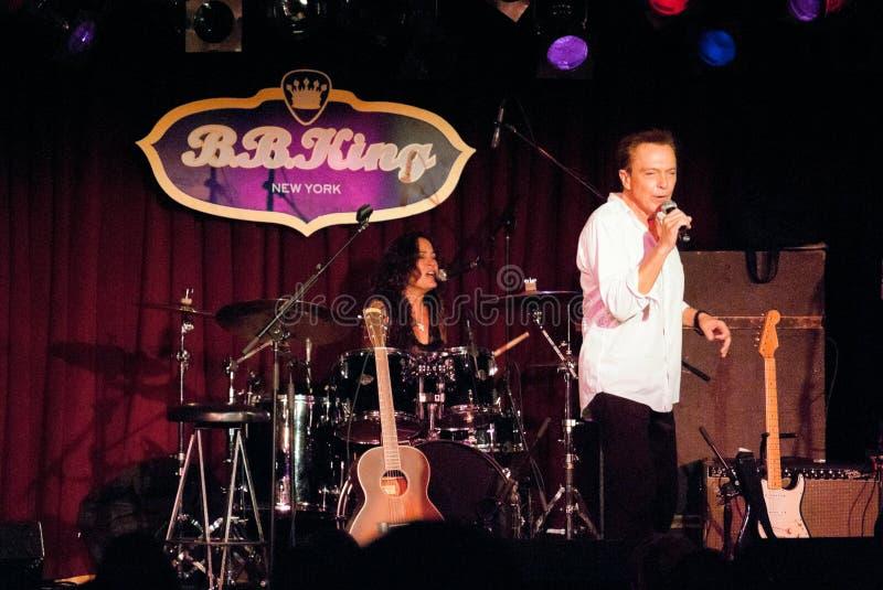 David Cassidy imagens de stock