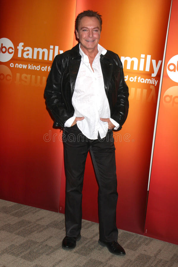 David Cassidy imagem de stock royalty free