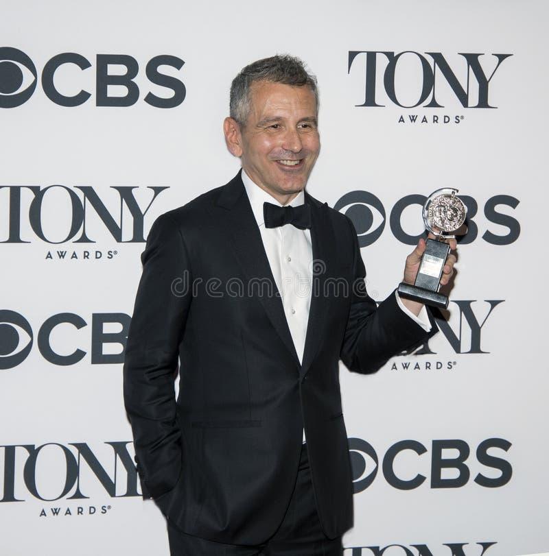 David Cromer en Tony Awards 2018 fotografía de archivo libre de regalías