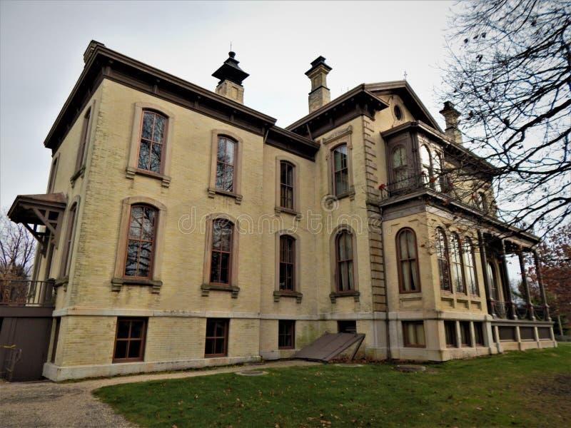 David Davis Mansion imagens de stock royalty free