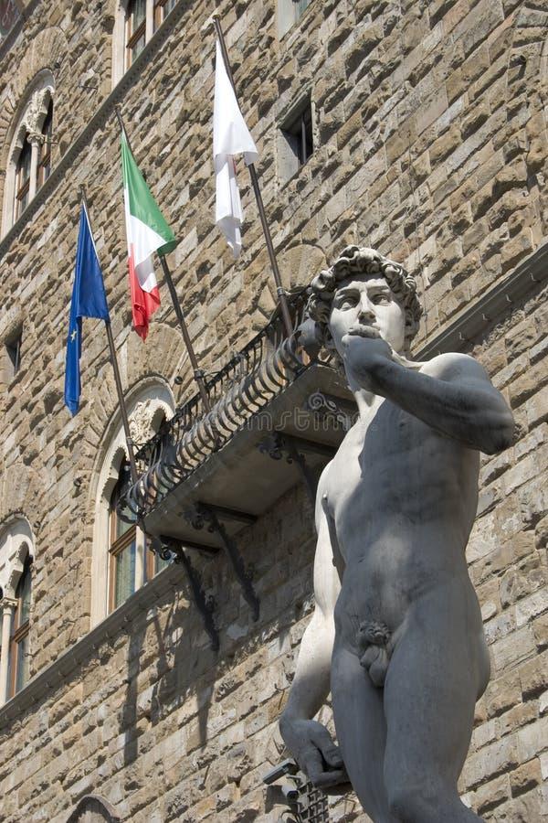 David de Florencia - de Michelangelo fotos de archivo libres de regalías