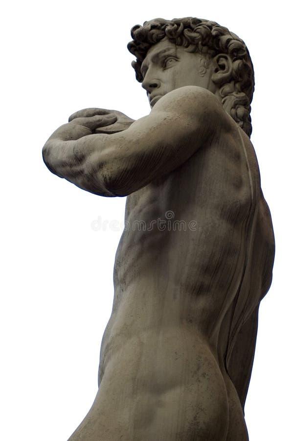 David di Michelangelo, David del Michelangelo fotografia stock