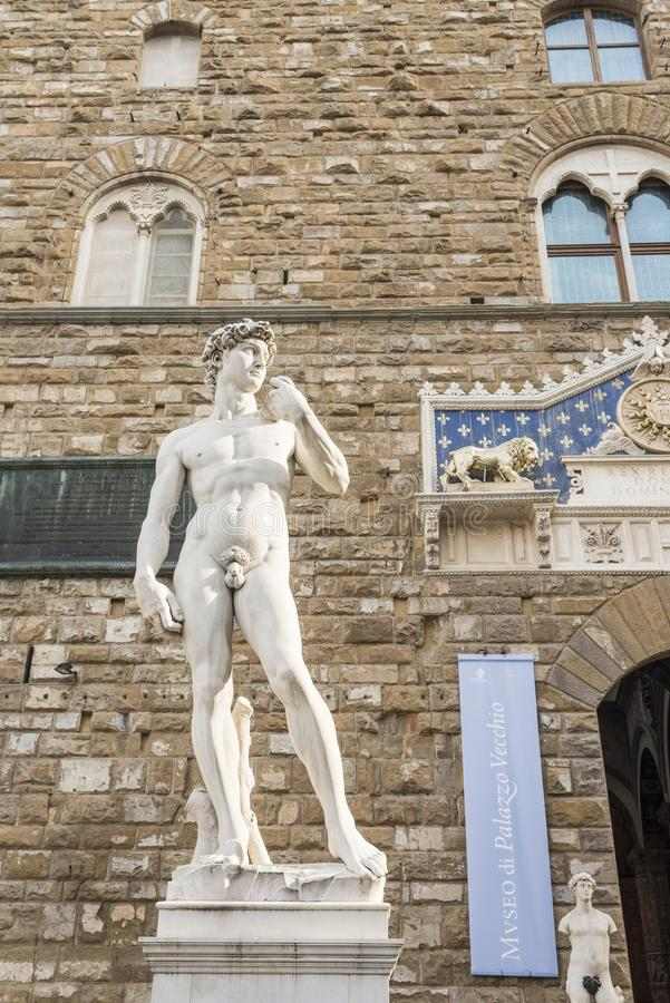 Download David Di Michelangelo, Firenze Fotografia Stock - Immagine di italia, sculptural: 117975694