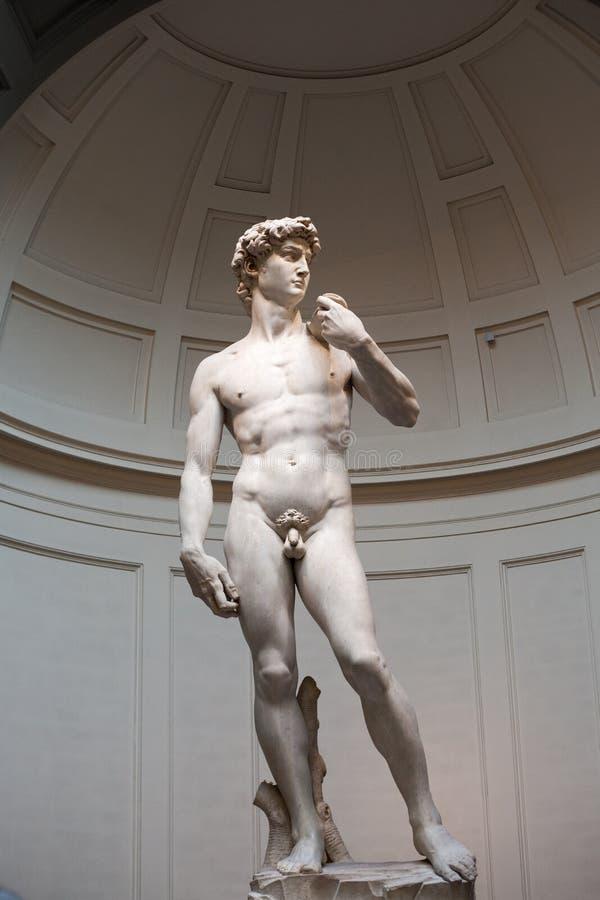 David door Michelangelo royalty-vrije stock foto's