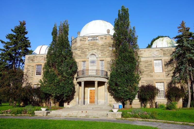 David Dunlap Observatory stock foto